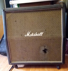 Marshall vintage speaker cab, model 1960a, early 70s