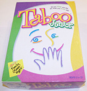 Original Taboo, Celebrity Taboo, Taboo Jr.-- all are complete London Ontario image 3