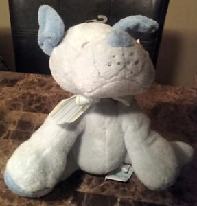 Russ Dog Plush Rattle - New with tags