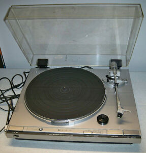 JVC DIRECT DRIVE TURNTABLE-VINTAGE Edmonton Edmonton Area image 1