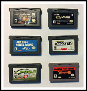 GAME BOY ADVANCE GAMES FOR SALE!