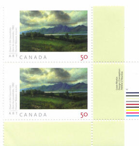 Canada Stamps - Art Canada Homer Watson 50c (2005) West Island Greater Montréal image 1