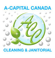 Cleaning Janitorial Jobs for retail stores 2 Teams of 2 Cleaners