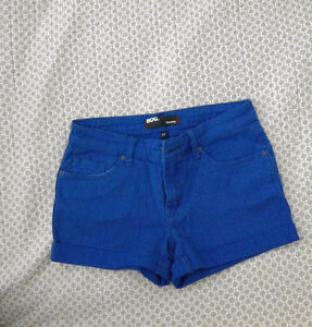 BDG Blue Shortie Shorts, New with Tags