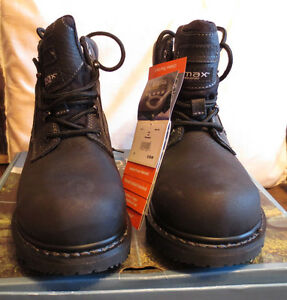 WindRiver Men's Police Style Boot, Size 11 Black