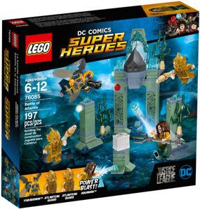 SAVE $4 Lego Brand New 76085 Aquaman Battle of Atlantis