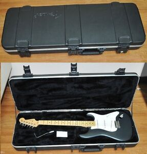 fender stratocaster american standard 2011 charcoal frost metall