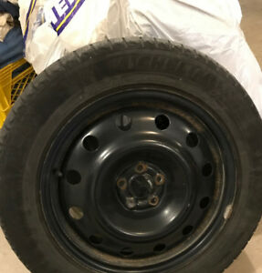 4 - 17 inch steel rims for sale off 2011 subaru forester 150 OBO