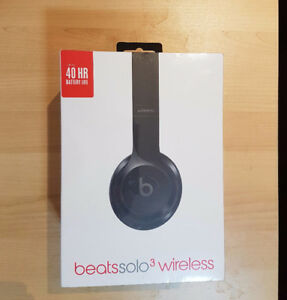 Beats by Dr. Dre Solo3 Sound Isolating Bluetooth *UNOPENED*