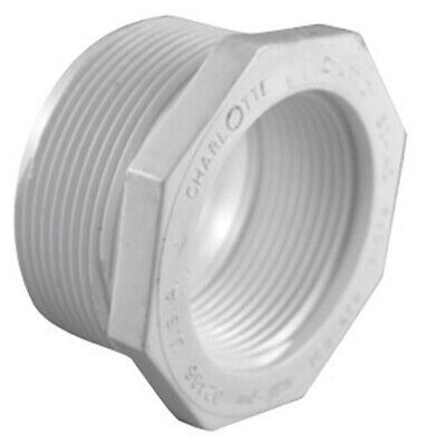 Charlotte Pipe 1-1/2in x 3/4in  Schedule 40 MPT To FPT PVC Reducing
