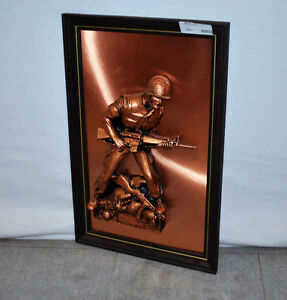 Peter Friedling's Sheet Copper The Living Marine Usmc Soldier