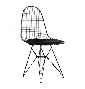 Eames Style Eiffel DKR Dining Chair Modern Mid-Century Black
