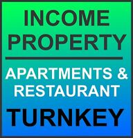 TWO APARTMENT SUITES & 5 STAR RESTAURANT - TURNKEY!