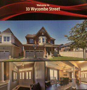 Welcome to 33 Wycombe Street, Brooklin, ON