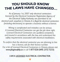 Electrician and helper for hire