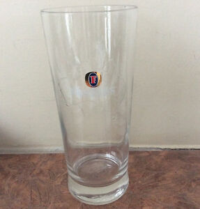 """Fosters Pint Glass with """"Map of Australia Feature"""""""
