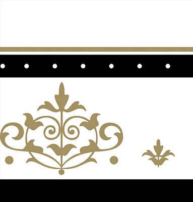 Oro y Negro Plástico Mantel Barato Dorado Boda Mantel Vajilla