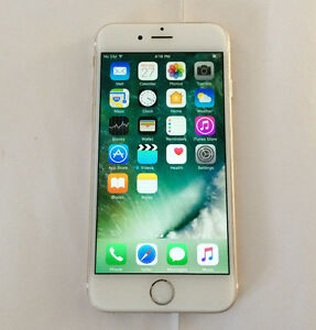 Apple iPhone 6 16GB Gold Bell and Virgin Excellent Condition