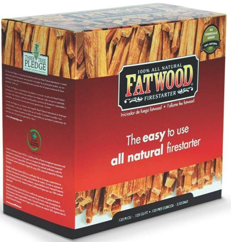 5LB Fat WD Firestarter,No 9987,  Wood Products Int