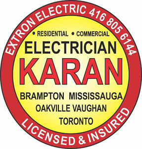 Electrician In Brampton, Licensed Electrician in Mississauga -