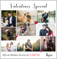 Valentines Special Offer - Photography CAD 150!