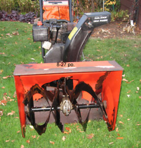 Souffleuse a neige Canadiana deux phases 8 hp
