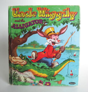 Uncle Wiggily and the Alligator, A Whitman Tell-A-Tale Book