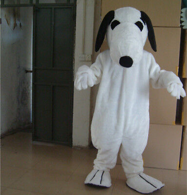 Snoopy Dog Mascot Costume Parade Outfit Dress Animal Party Adults Cosplay Unisex](Snoopy Mascot Costume)