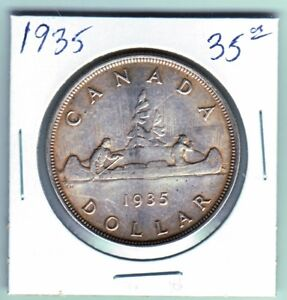 Canadian silver dollars 1935-1967