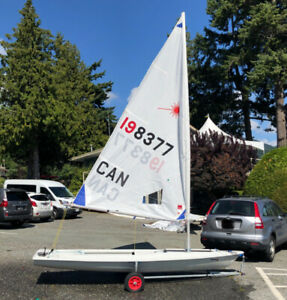 Race-Ready Laser Sailboat in West Vancouver. Excellent Condition