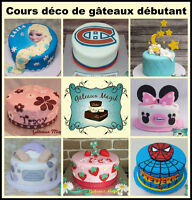 Cours décoration de gâteaux en fondant