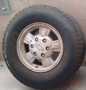 235/75R15 - tires & 4 aluminum rims St. John's Newfoundland image 1