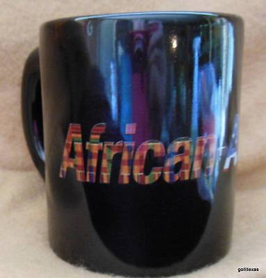(African American News and Issues Mug 3.5