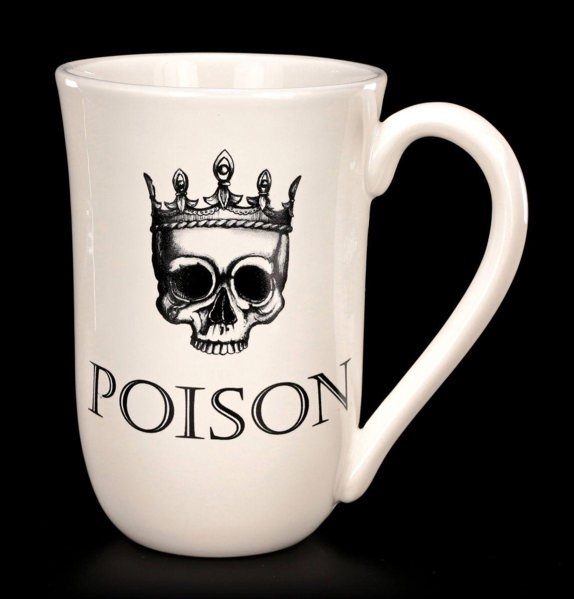 Große Keramik Tasse 600ml - Poison - Fantasy Teetasse Kaffebecher Gothic