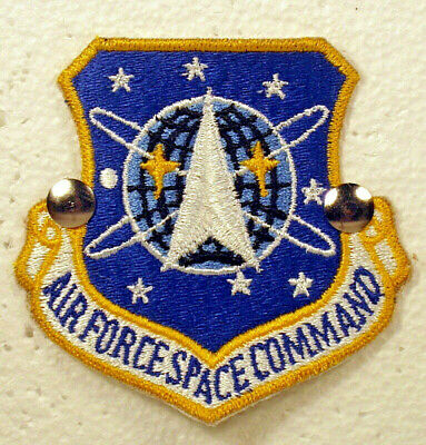 USAF US Air Force Space Command Full Colored Insignia Badge Patch (Air Force Command Badge)
