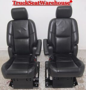Cadillac Escalade ESV 2nd Row Heated Folding Bucket Seats Yukon