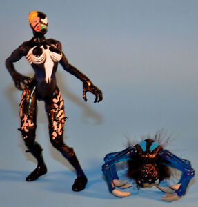 Spider-man BRIDE OF VENOM Action Figure Toy 1997 Toy Biz