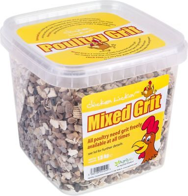 AgriVite Mixed Poultry Grit 1.5kg Tub