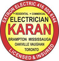 "Electrician Brampton Licensed Electrician Mississauga 'KARAN"""