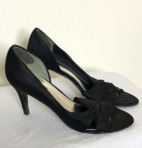 Heels for Sale - Greenwich Village Brand, Black Fabric Upper