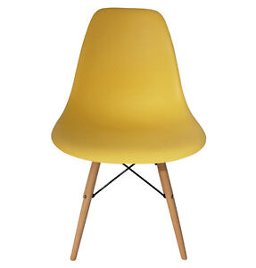$59 16 Colors Eames Style Eiffel Dining Chair Modern Mid-Century