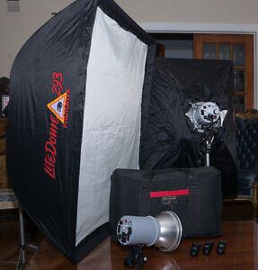Kit studio photo complet