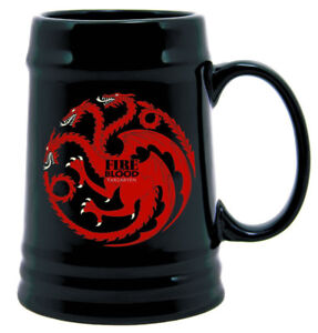 Brand New Dark Horse Deluxe Game of Thrones Ceramic Stein Cup: T