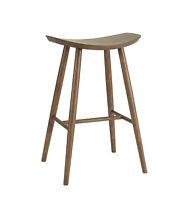 Modern Mid-Century Scandinavian Wooden Bar Stool Wood Barstool