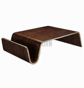 Scando Style Coffee Table Modern Wood Wooden Walnut Design