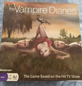 THE VAMPIRE DIARIES BOARD GAME