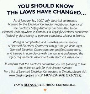 CALL US FOR ALL YOUR ELECTRICAL WORK Kawartha Lakes Peterborough Area image 8
