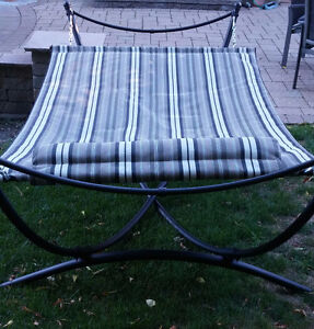 Lounger/Hammock with stand