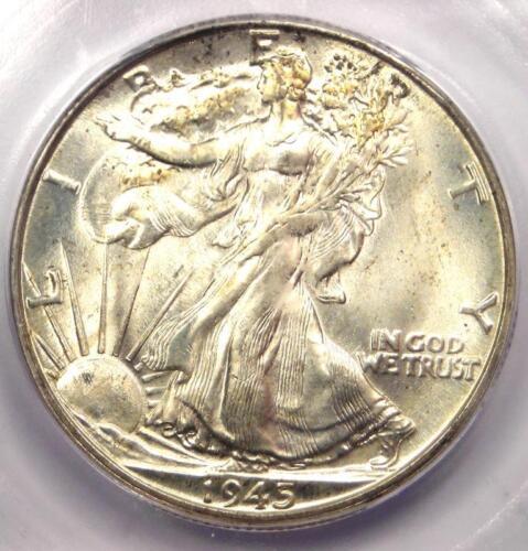 1945-D Walking Liberty Half Dollar 50C Coin - Certified ICG MS67 - $910 Value!
