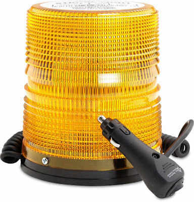 North American Signal 625 Series Amber Strobe Beacon Wmagnetic Mount